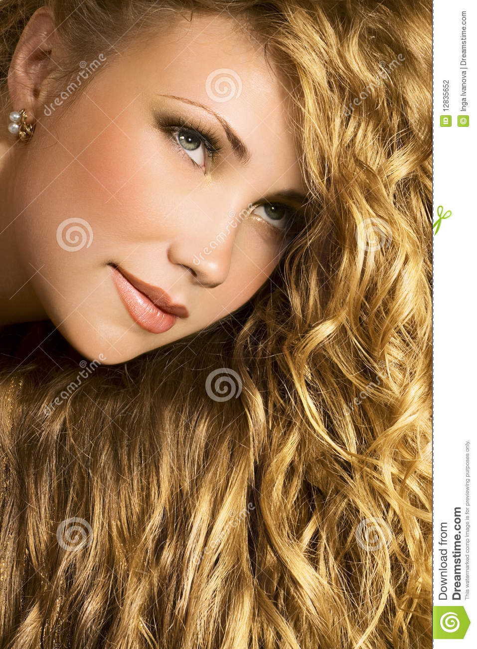 Golden Hair Stock Photo Image Of Hair Blonde Young