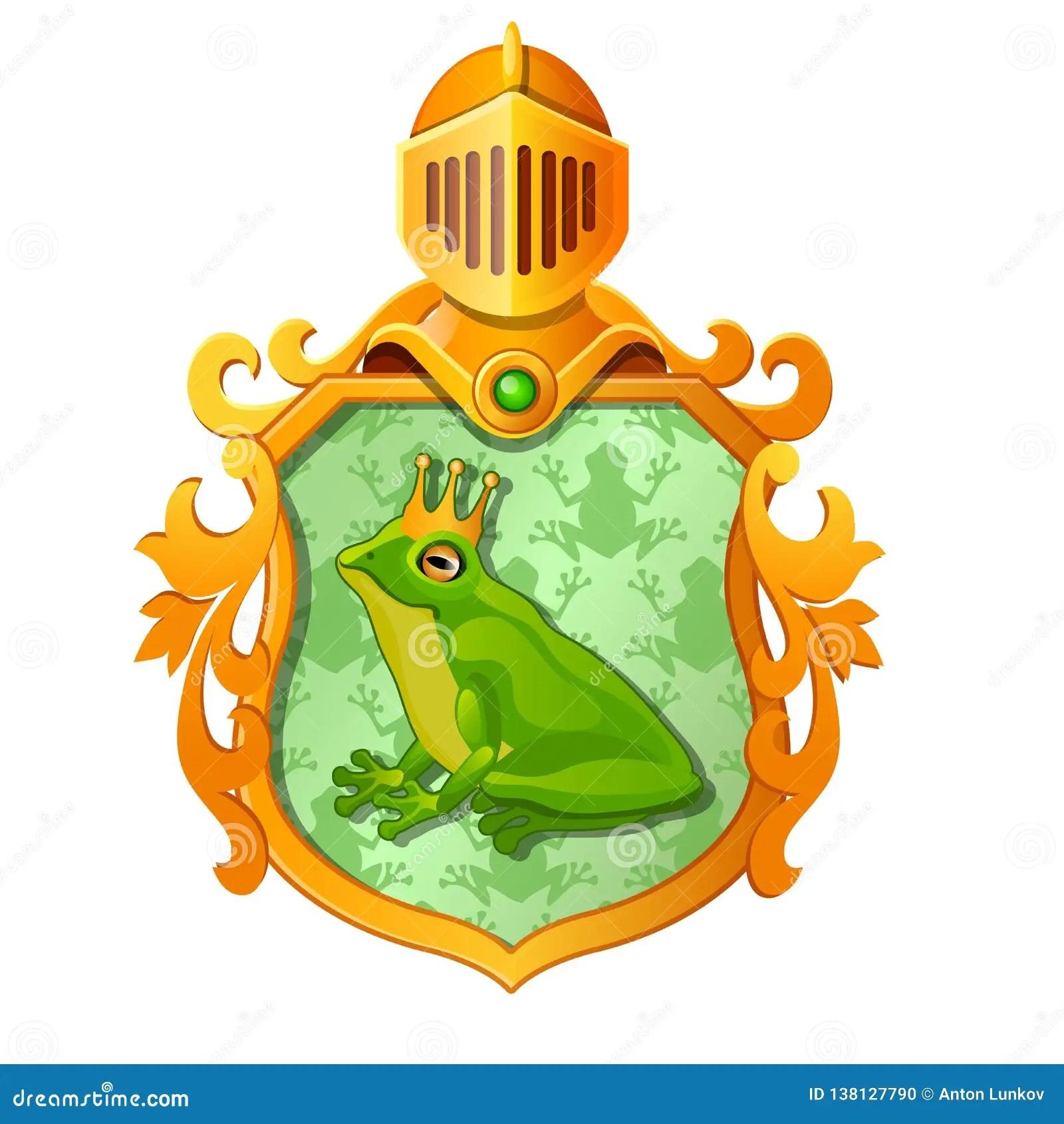 Frog Ornate Vector Illustration