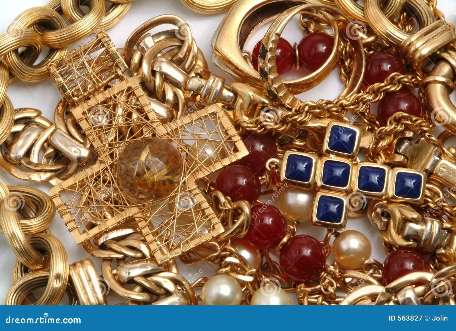 Golden Treasure Royalty Free Stock Photography Image 563827