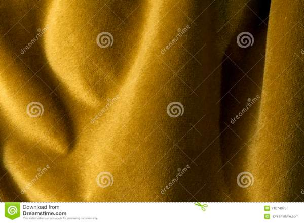 Golden Velour Fabric Background Velvetmohaircashmere