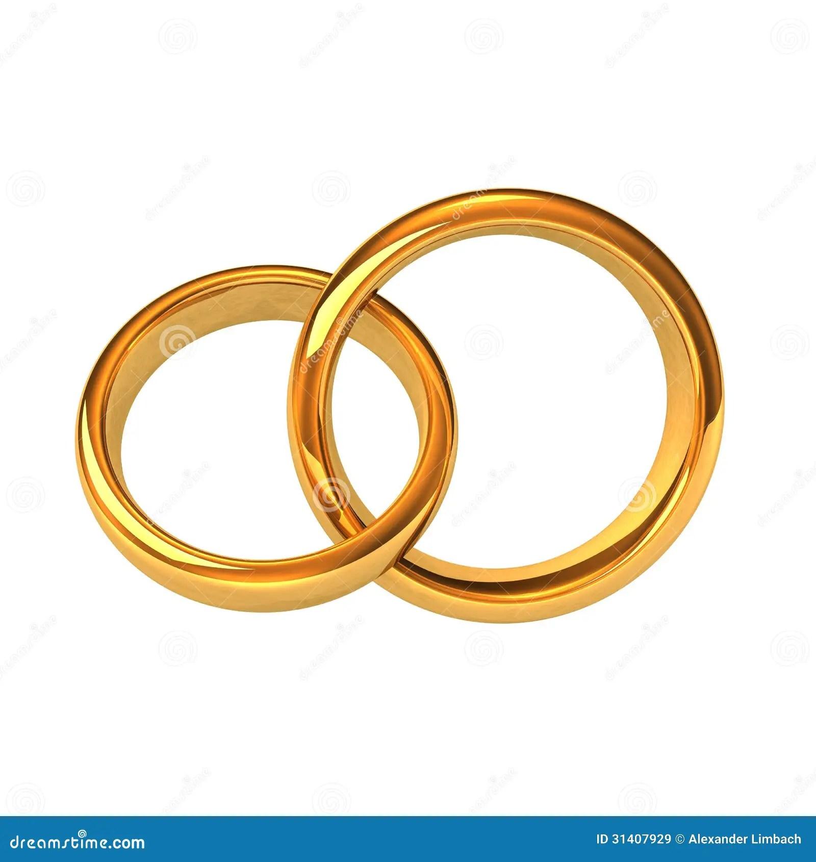 Goldene Ringe stock abbildung Illustration von zeremonie