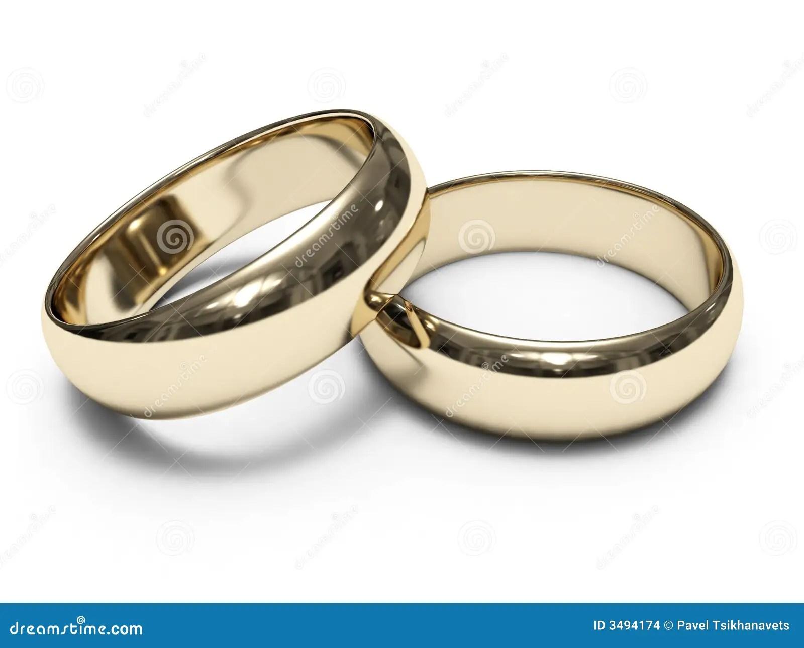 Goldene Ringe stockfoto Bild von reflexion ring ringe