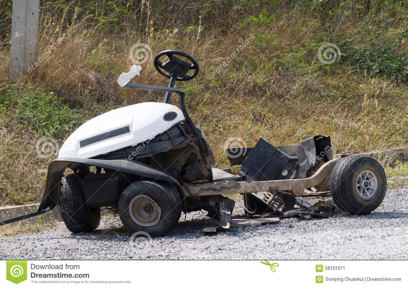 golf cart accidents fight or flight stress response diagram accident stock photo image 58101971