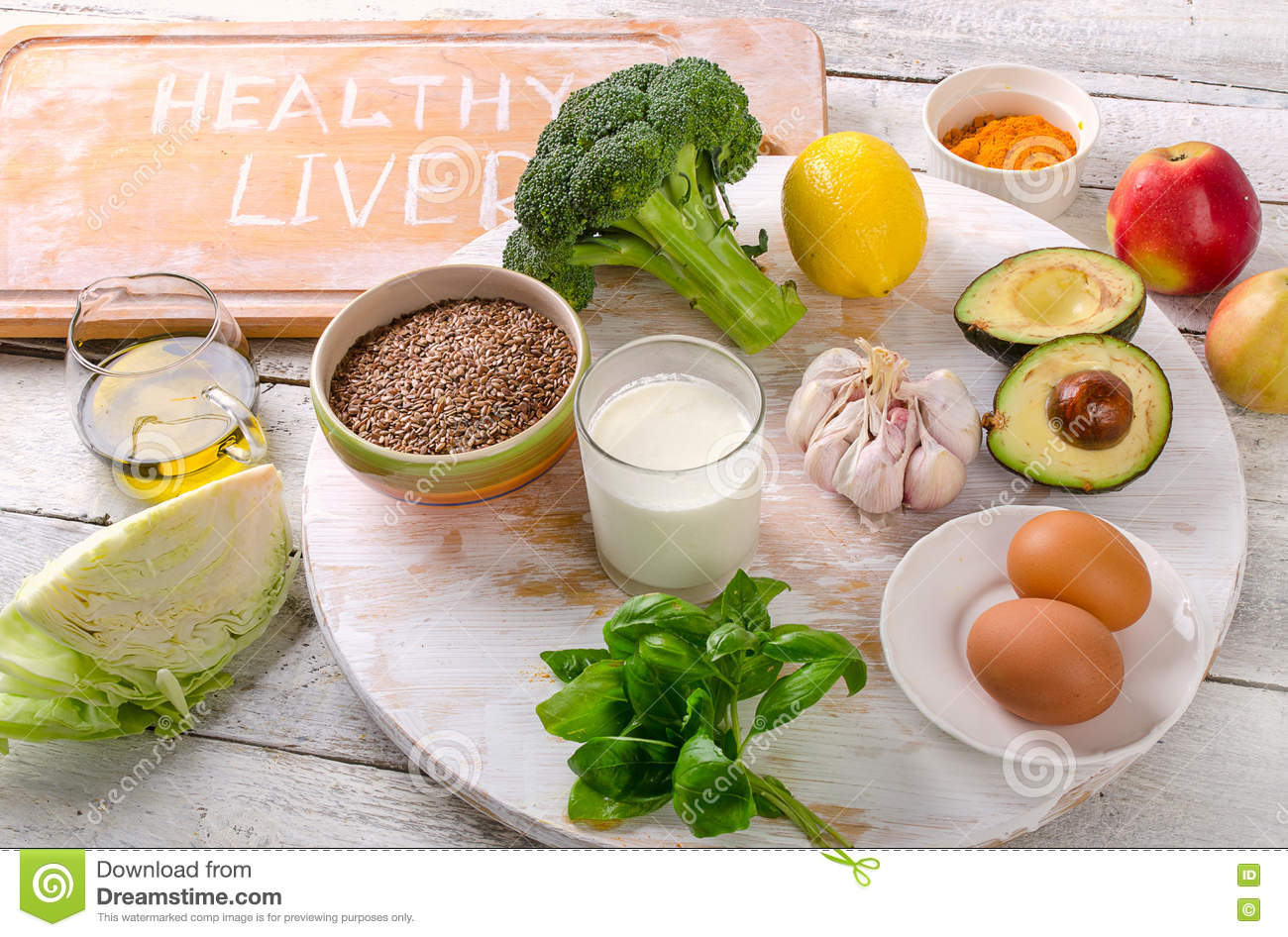 good foods for healthy and clean liver stock photo image 76221461