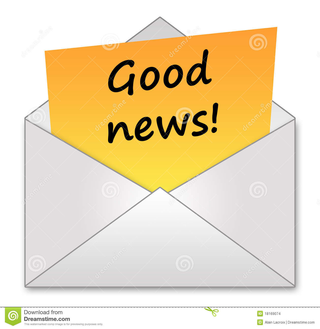 Good News Stock Images Image 18169074