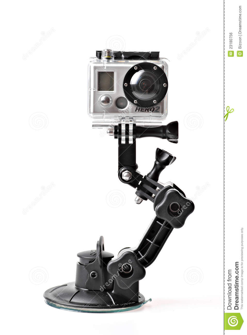 GoPro HERO2 action camera editorial photo. Image of