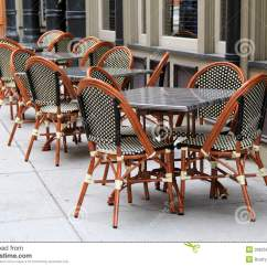 Just In Time Tables Chairs How To Make Doll Gorgeous Cane And Outside Restaurant Stock