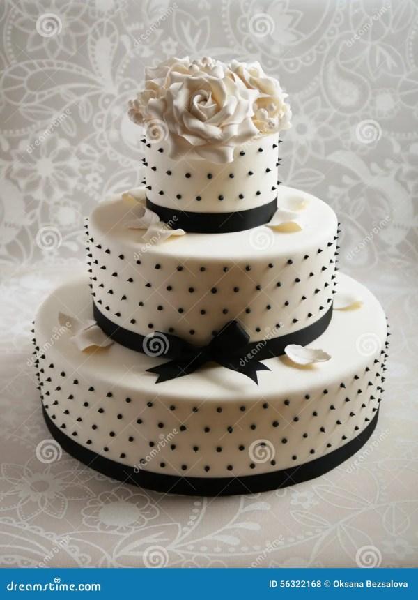 Gorgeous Wedding Cake Stock Of