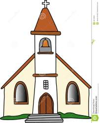 church gothic medieval illustration preview