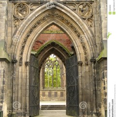 Cathedral Architecture Gothic Arches Diagram 5 Wire To 4 Trailer Wiring Entrance Stock Photo Image 6659200