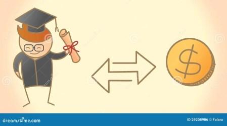 student graduate cartoon