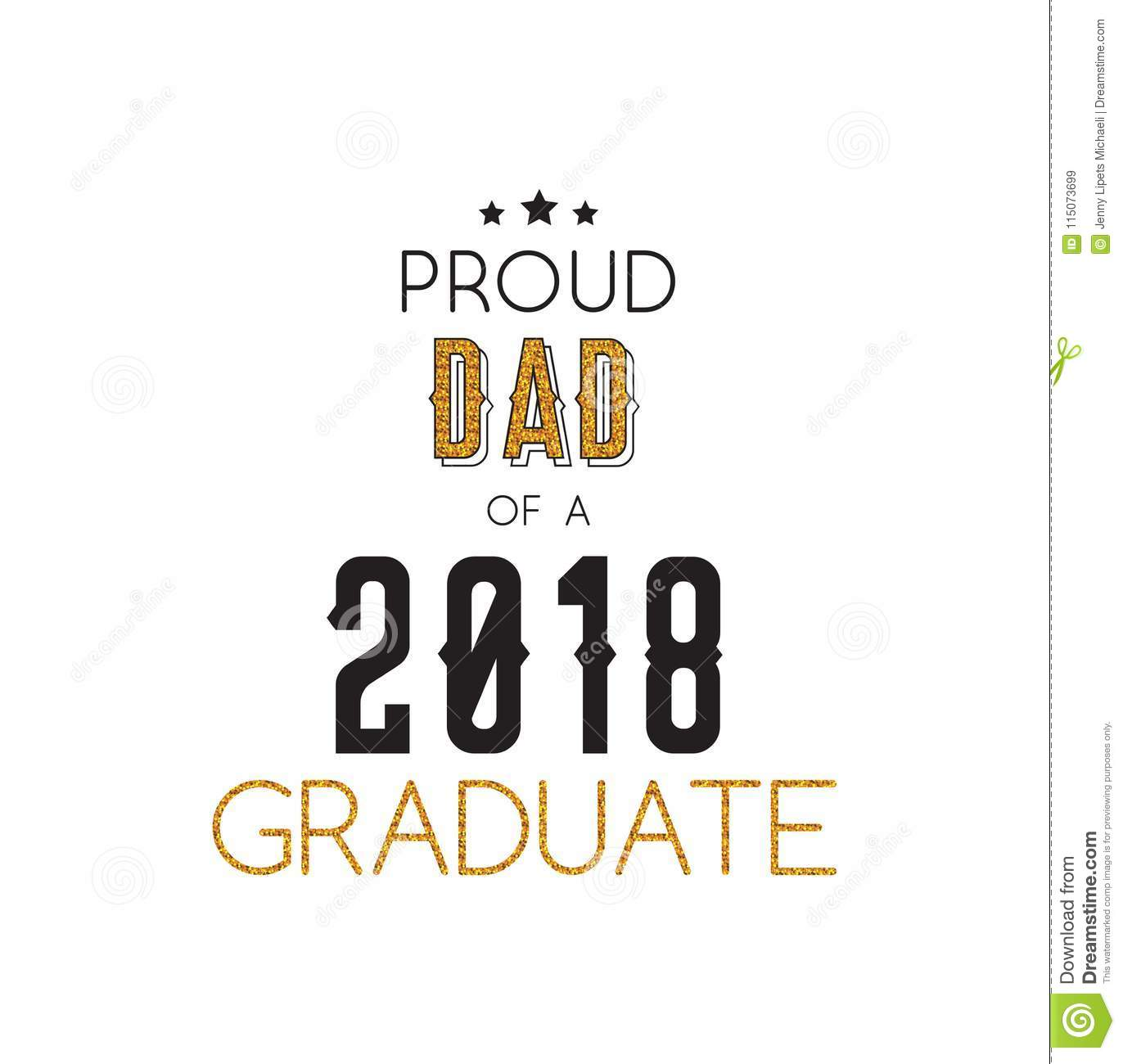 Graduation Wishes Overlays, Lettering Labels Design