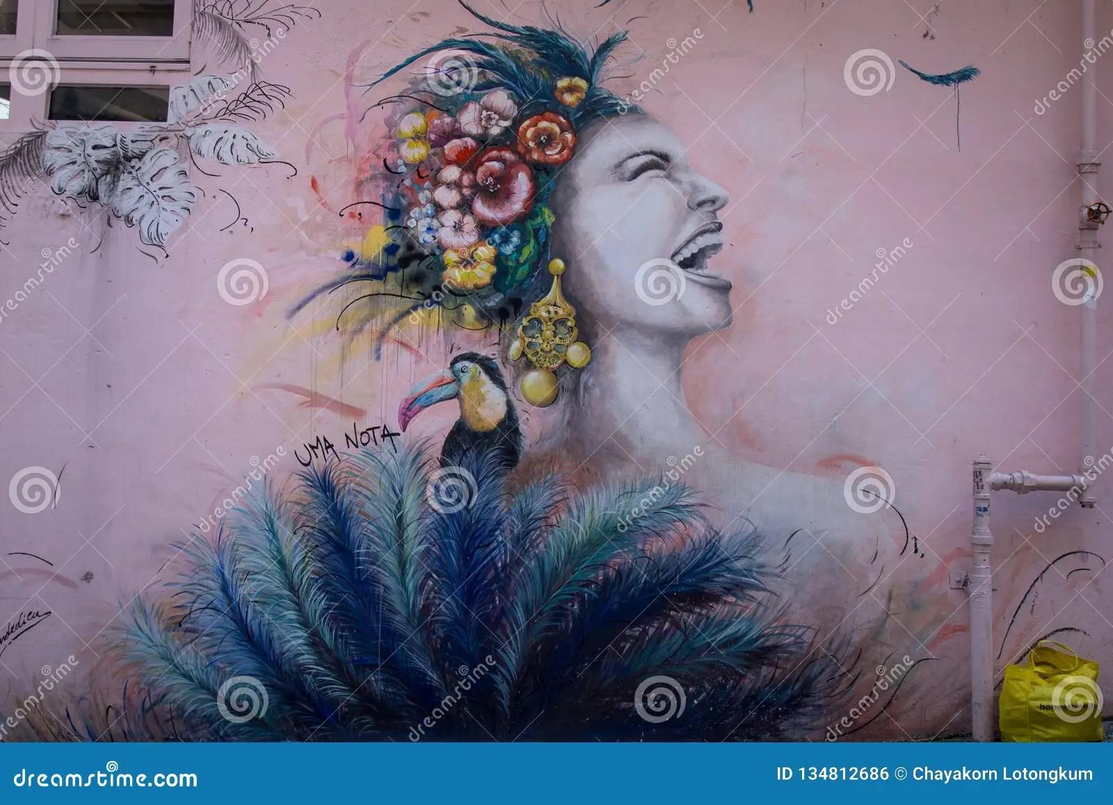 Graffiti Art In Central. Hong Kong Editorial Photo - Image of gutzlaff. artist: 134812686
