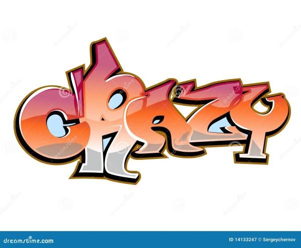 Crazy Graffiti Art