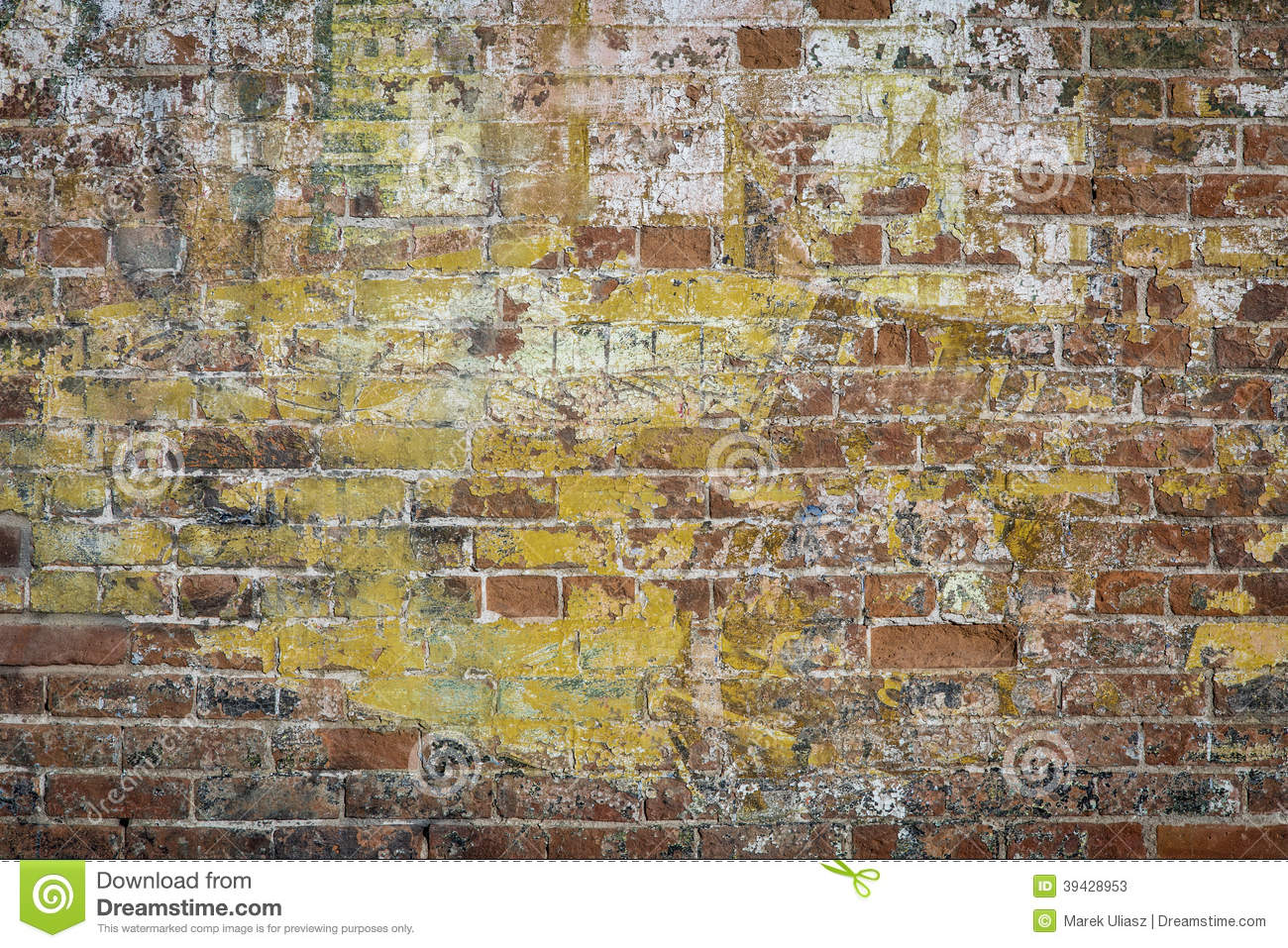 Graffiti brick wall stock image Image of grunge painted  39428953