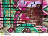 Graffiti Wall Stock Photo - Image: 55341882