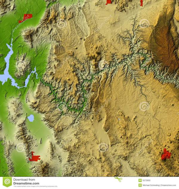 Topographic Map Of The Grand Canyon.Grand Canyon Topographic Map Imgurl