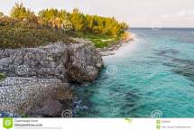 Grand Cayman Barefoot Beach Vista Royalty Free Stock