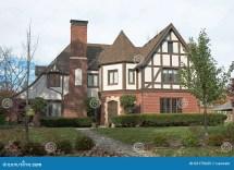 Grand English Tudor Home Stock Of Gable