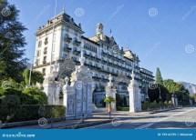 Grand Hotel Des Iles Borromees In Stresa Italy Editorial