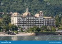 Grand Hotel Des Iles Borromees And Stresa Town Embankment
