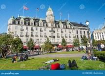 Grand Hotel In Oslo Norway Editorial