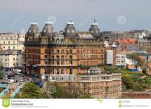 Grand Hotel In Scarborough England Royalty Free Stock