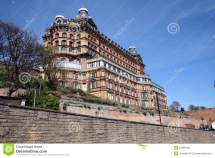 Grand Hotel Scarborough. Editorial Stock