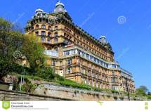 Grand Hotel Scarborough. Editorial Of