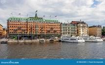 Grand Hotel Stockholm Editorial Stock