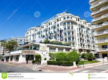 Grand Hyatt Cannes Hotel Martinez France Editorial Stock