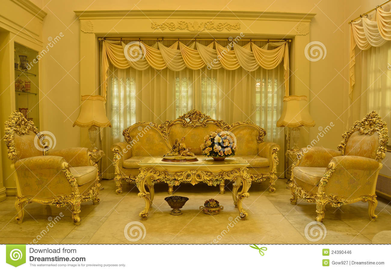 sofa table design plans fairmont grand living room royalty free stock image - image: 24390446