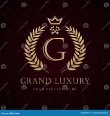 Grand Luxury Key Hotel Logo Stock Vector - Illustration Of