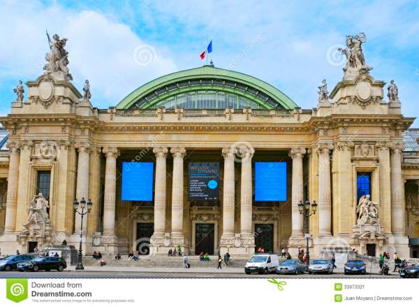 Grand Palais In Paris France Editorial