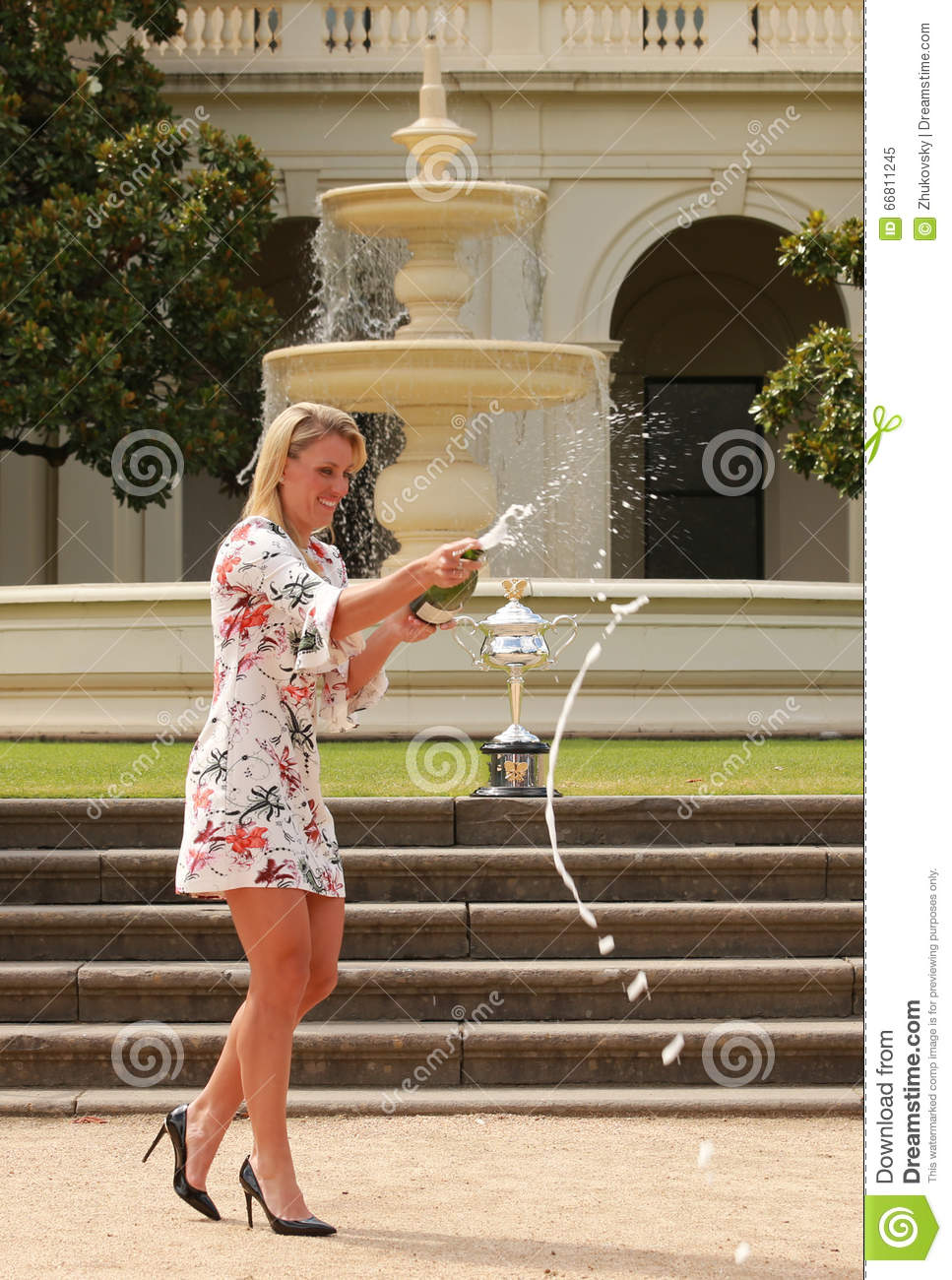 Grand Slam Champion Angelique Kerber Of Germany