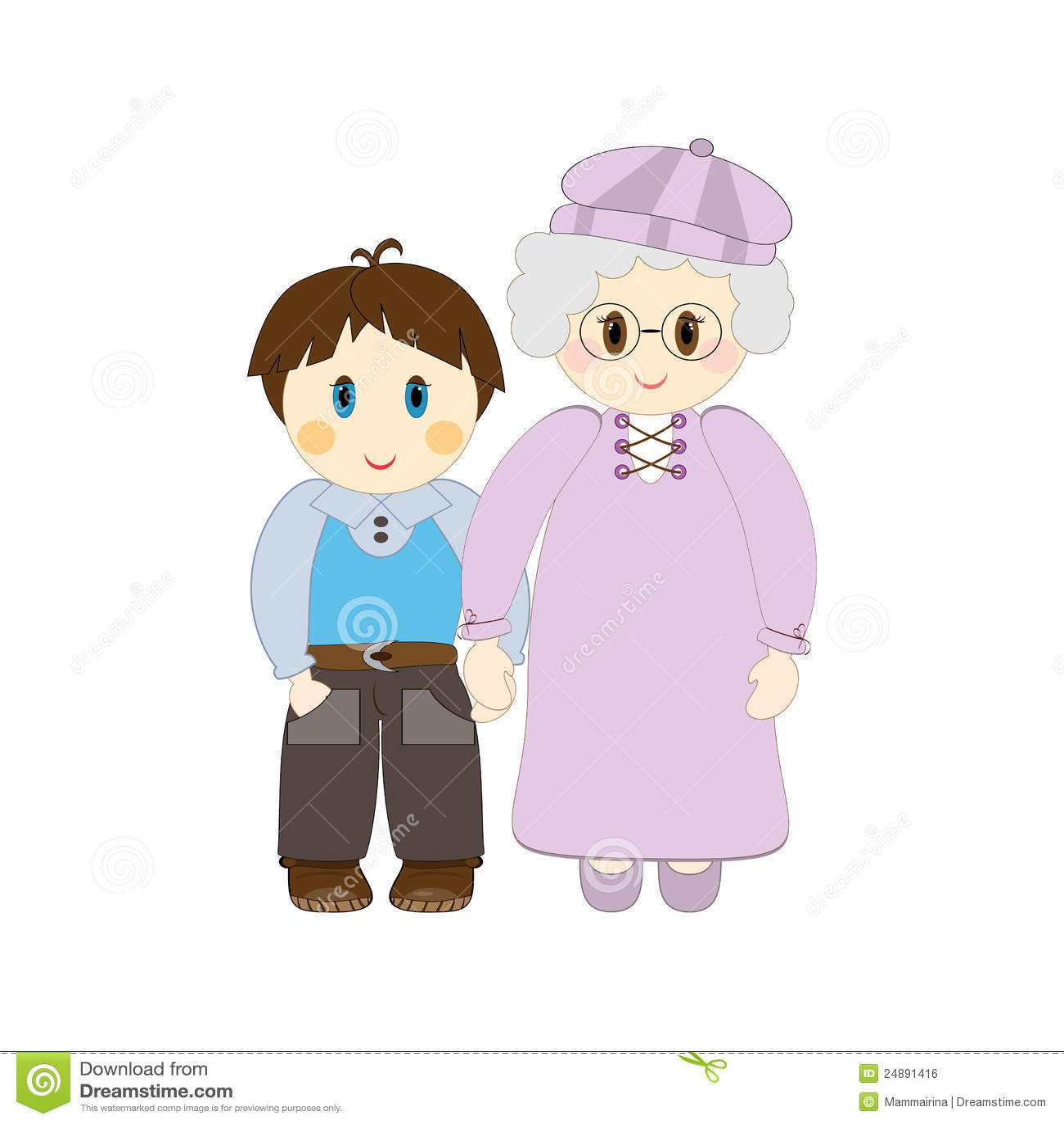 hight resolution of clipart grandparent
