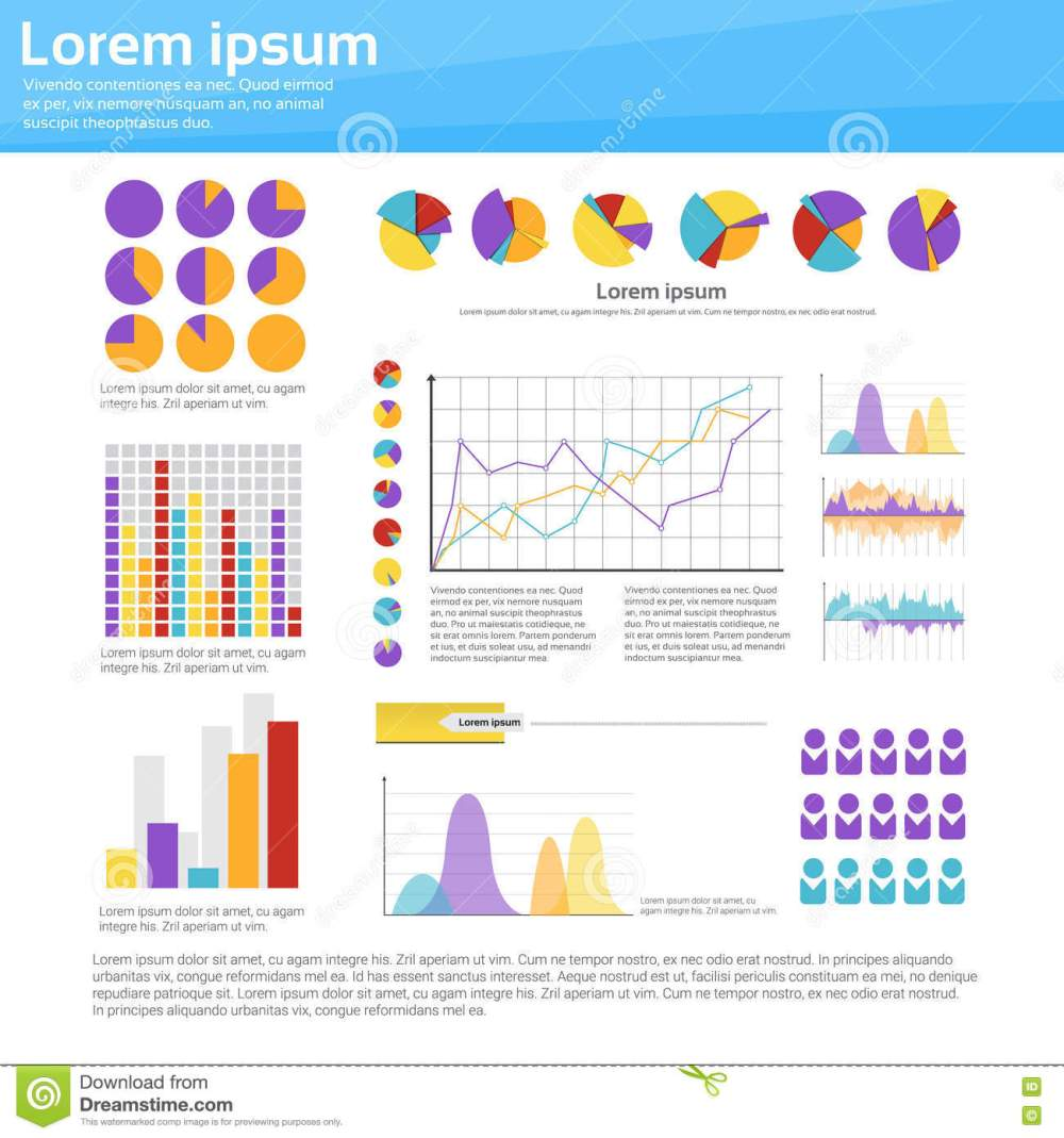 medium resolution of graph set finance diagram infographic icon financial business chart