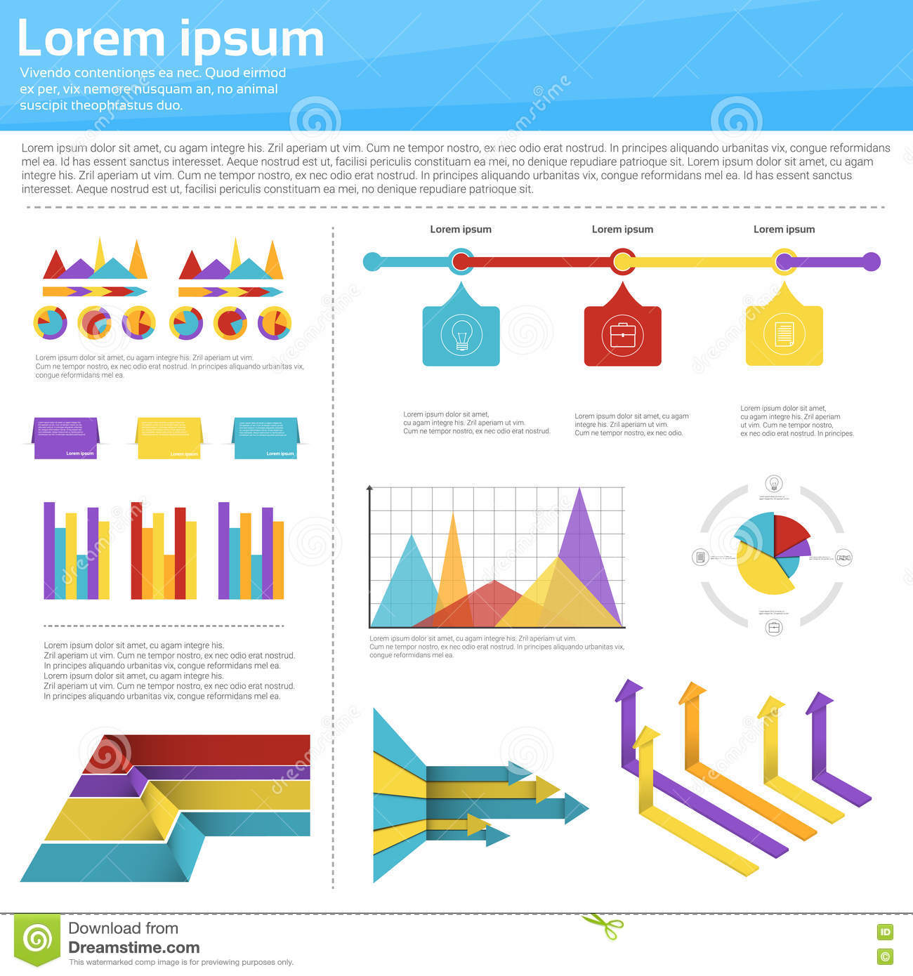 hight resolution of graph set finance diagram infographic icon financial business chart