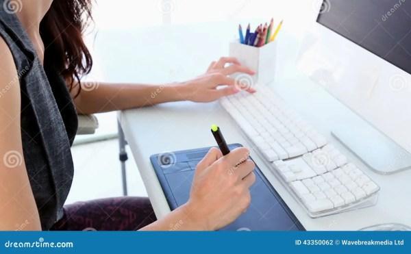 Stock Photographic Designer Desk