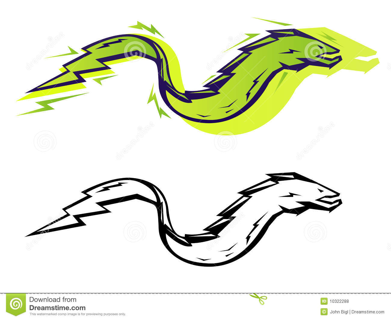 hight resolution of graphic eel