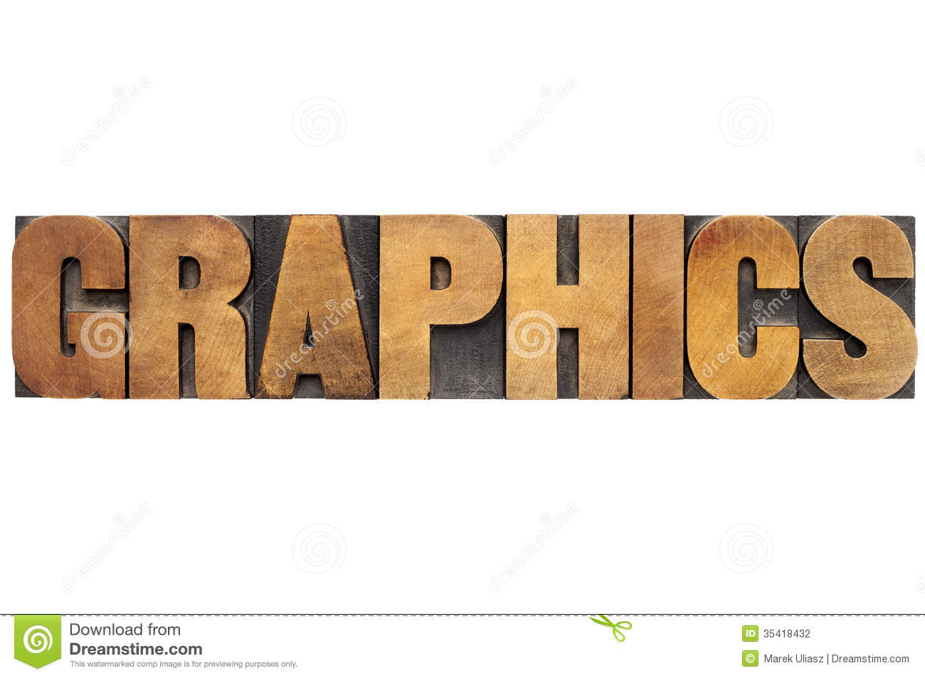 graphics word in wood
