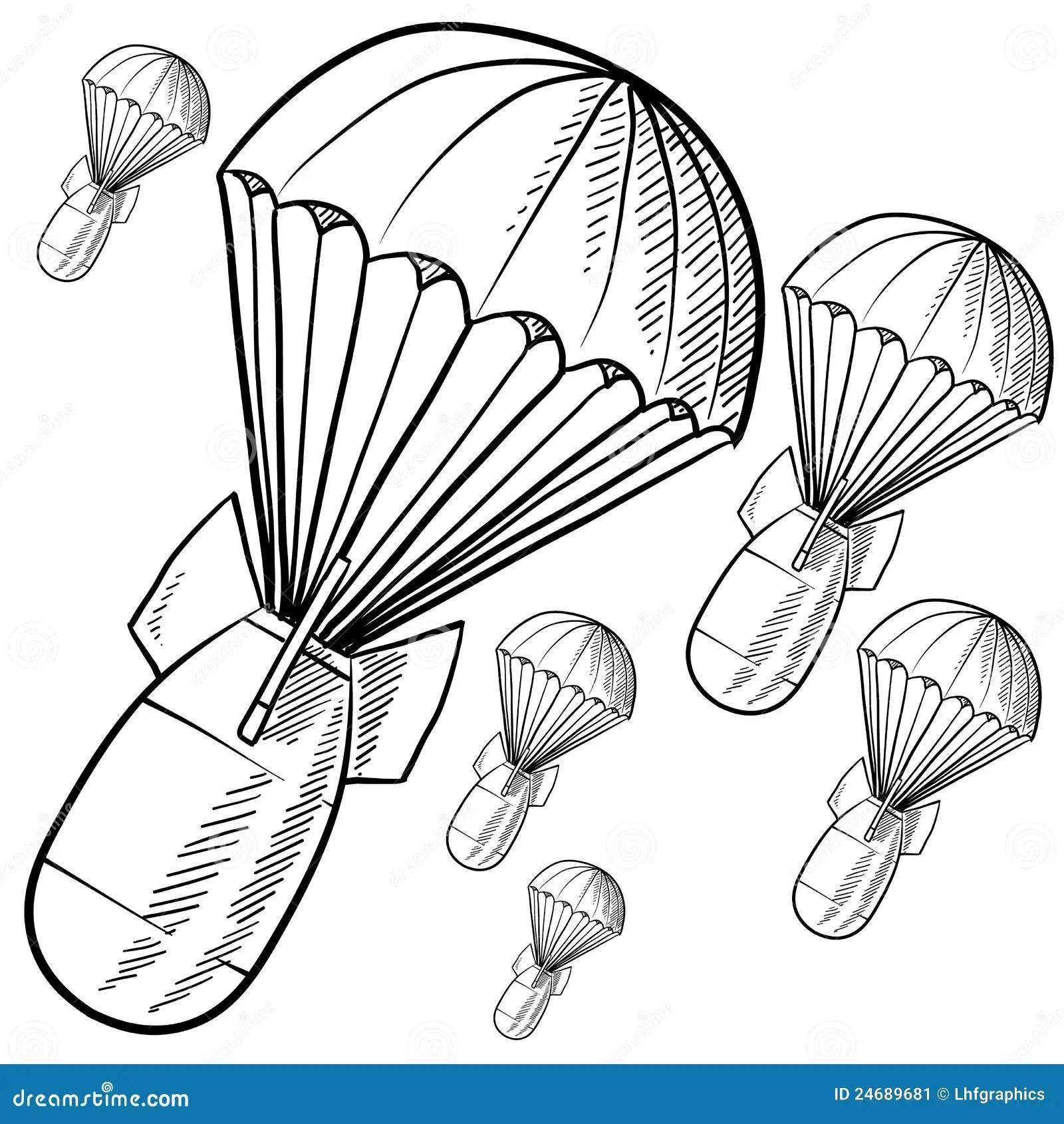 Gravity Vector Sketch Stock Vector Illustration Of