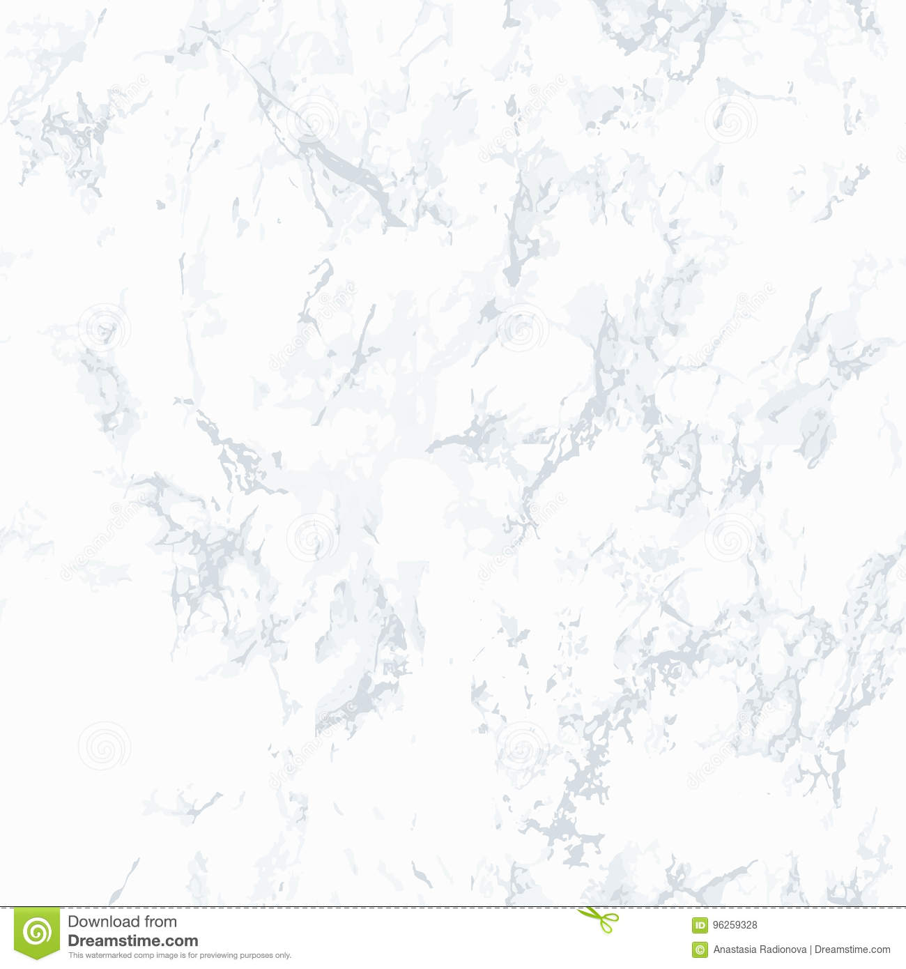 Gray Marble Texture Seamless Pattern Stock Vector