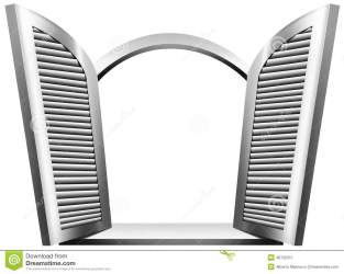 window open shutters clipart arch balcony background gray wooden round wood clip cartoon isolated blinds clipground