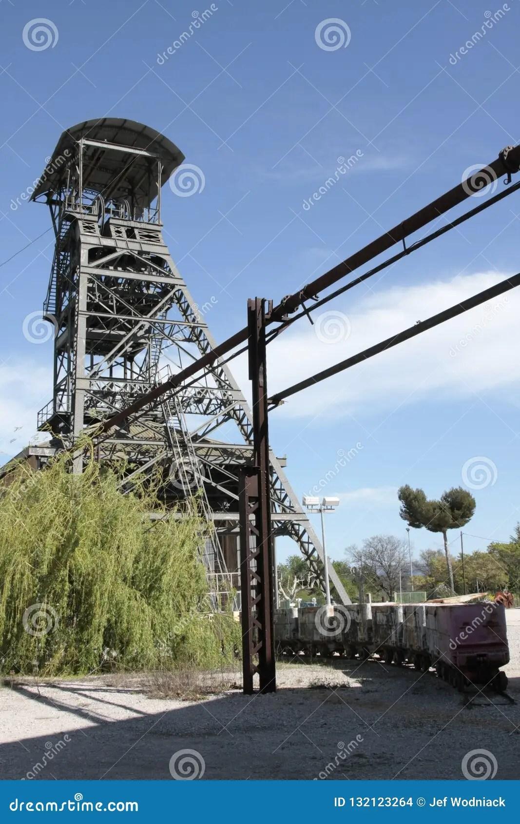 Mines De Charbon En France : mines, charbon, france, Greasque, France, 10/25/2018., Stock, Photo, 132123264, Megapixl