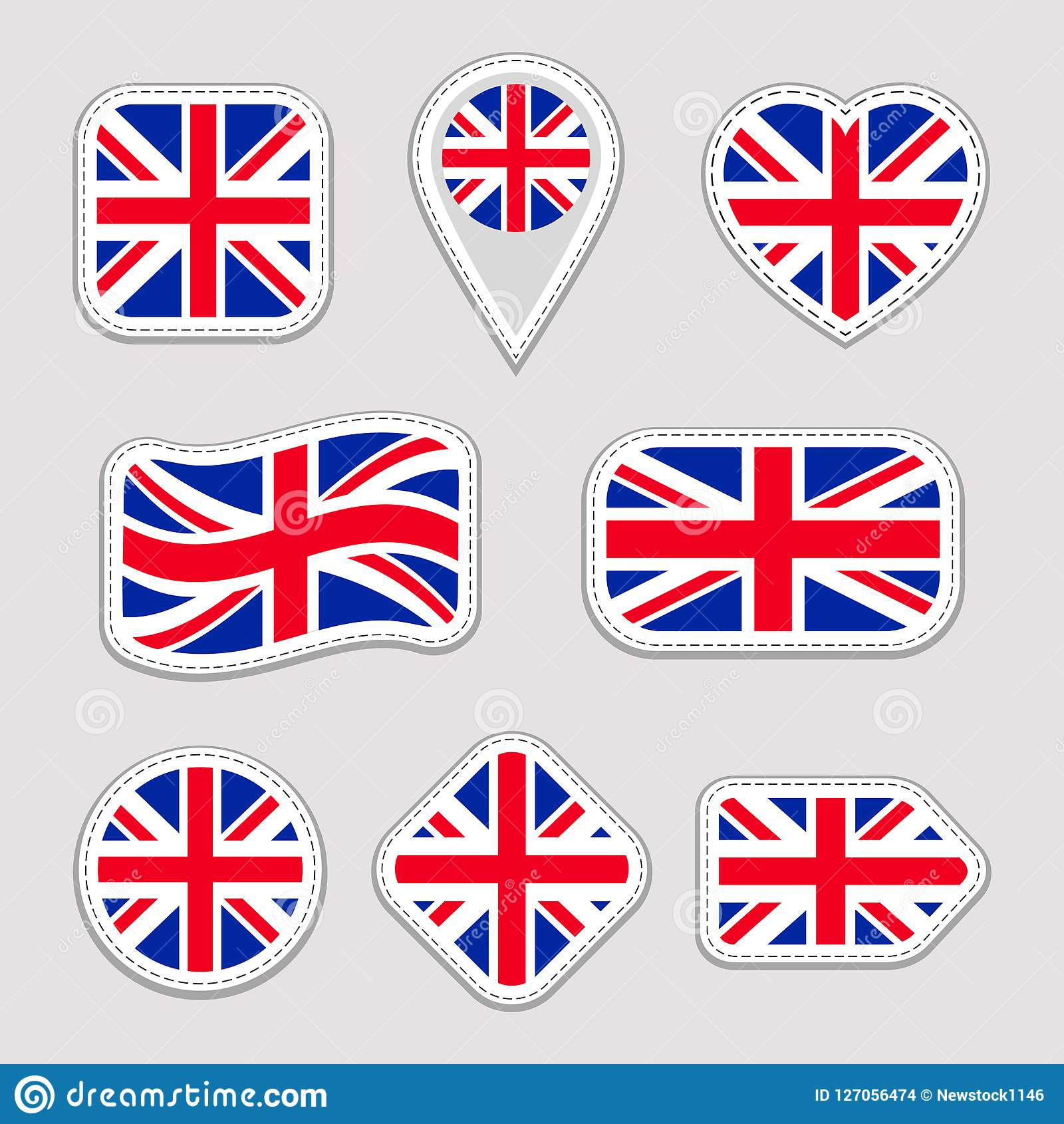 great britain flag collection