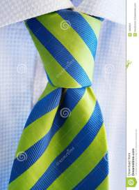 Green And Blue Tie Stock Image - Image: 13380521