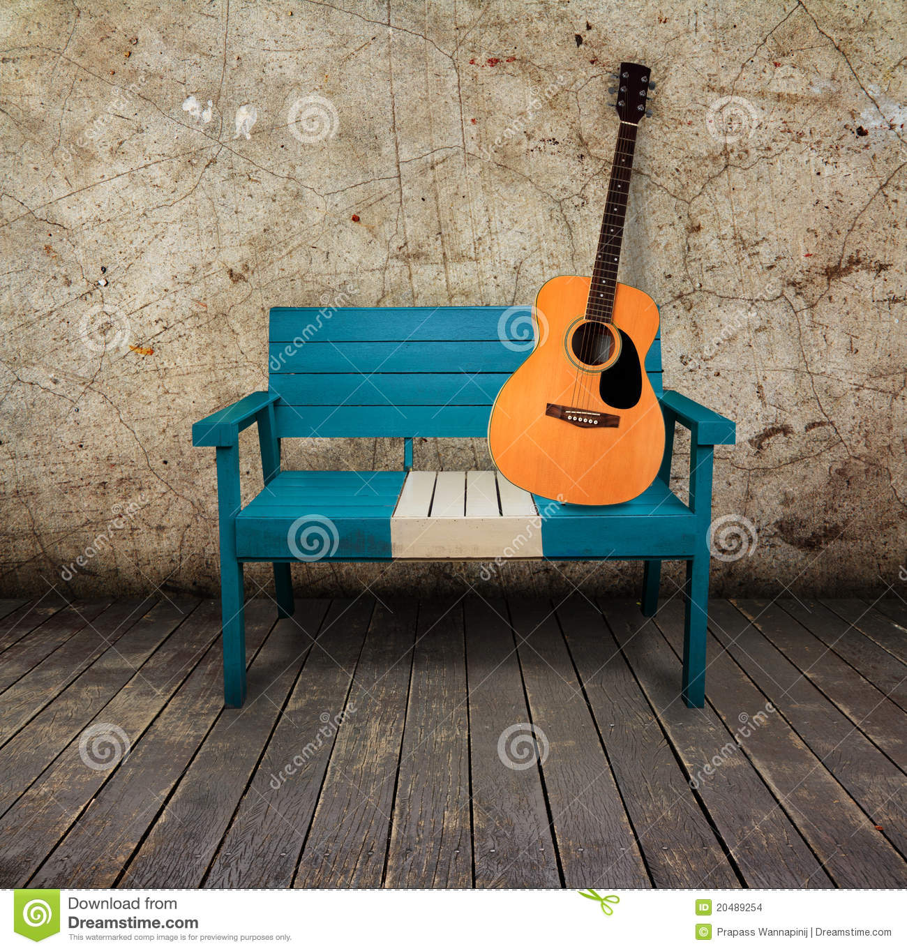 classical guitar chair metal folding chairs target green effects pedal royalty free stock image
