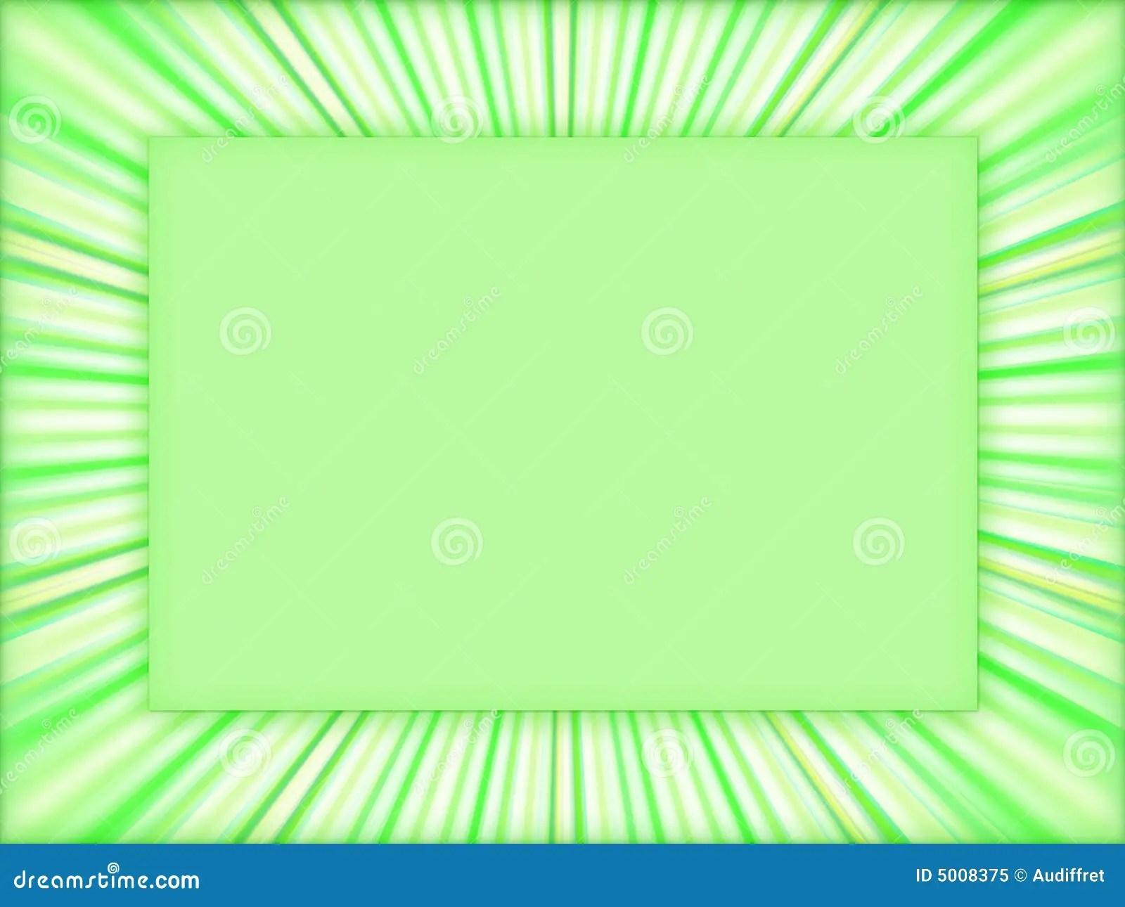 3d All Wallpaper Free Download Green Frame Background Stock Illustration Image Of