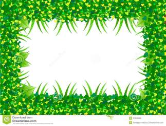 border leaf leaves frame heart royalty vector elements dreamstime